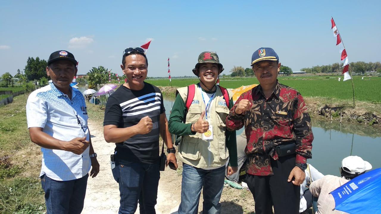 Wisata Lomba Mancing Dusun Juwet, Desa Magersari....!!!