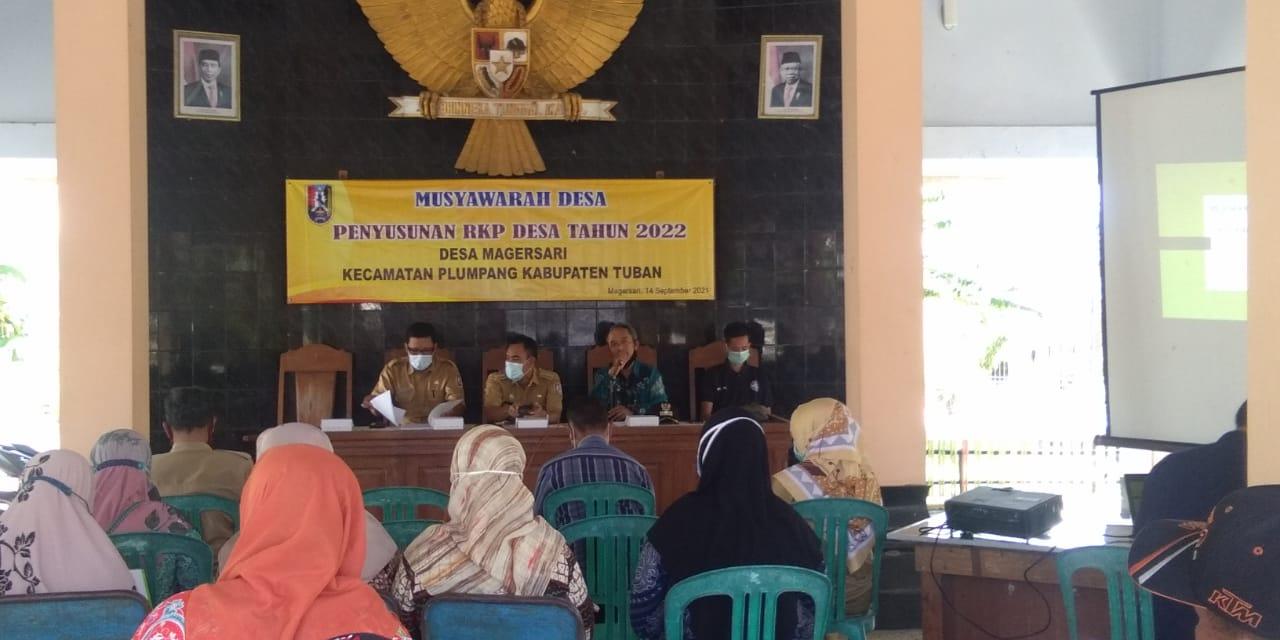 RKPDes Magersari Tahun 2022
